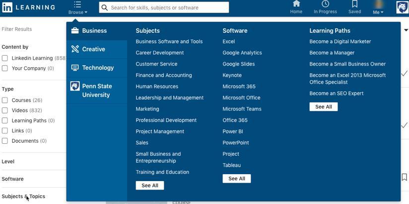 Public Knowledge Base - LinkedIn Learning: Navigate the